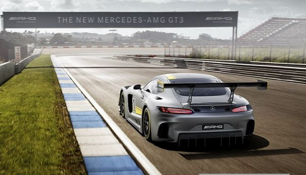 2016 Mercedes AMG GT3 - Rear view