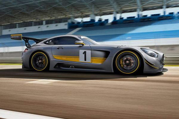 2016 Mercedes AMG GT3 - SIde View