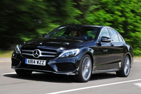Mercedes-Benz C-Class dark blue