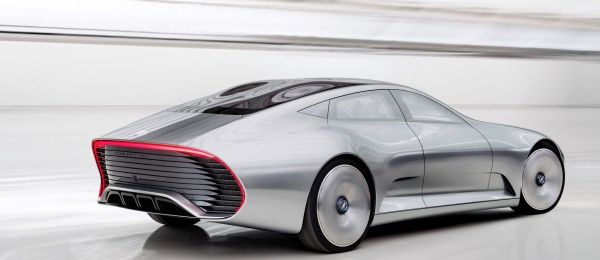 Mercedes-Benz Concept IAA 2015 - Rear View