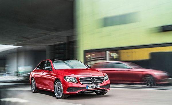 2017 Mercedes-Benz E-class - -