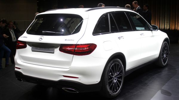 Mercedes Benz GLC 2016 - Rear View