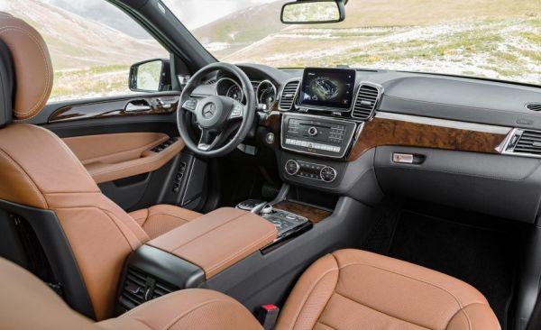 2017 Mercedes-Benz GLS-class - Interior
