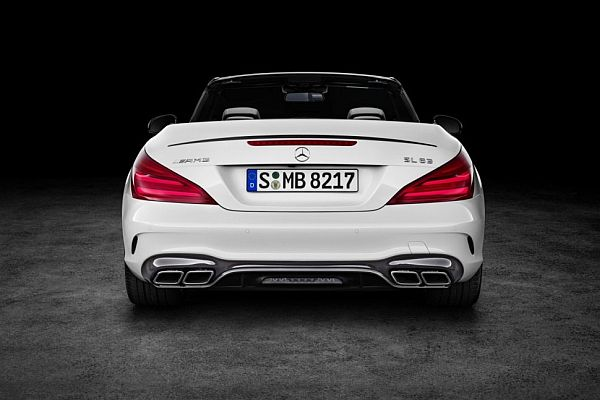 2017 Mercedes-Benz SL-Class - Rear View