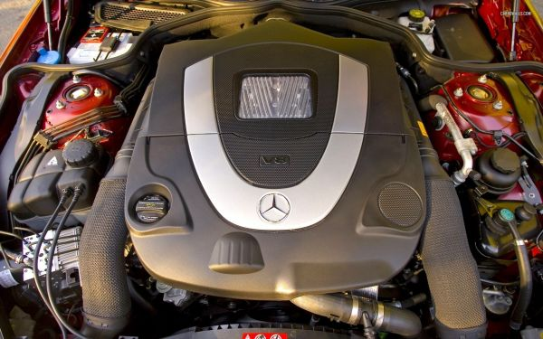 Mercedes SL-Class Roadster Engine - 2015