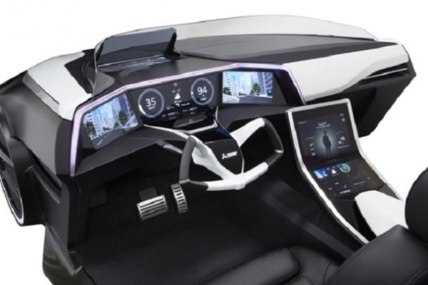 Mitsubishi Emirai 3 xDas - Interior