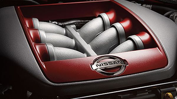 2016 Nissan GT-R Sports Car - Engine