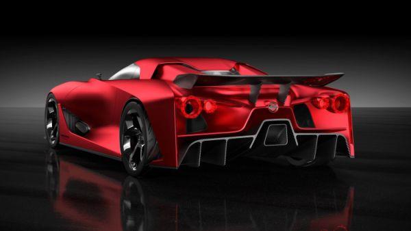 Nissan Vision Gran Turismo Rear View