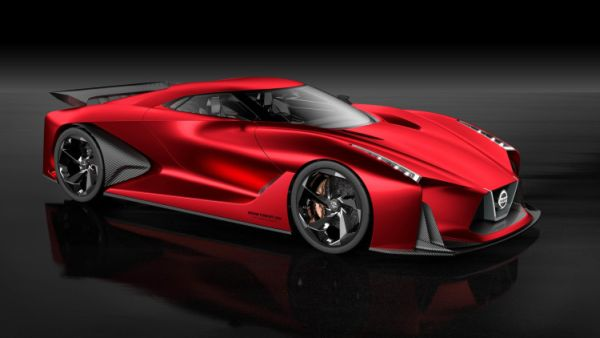 Nissan Vision Gran Turismo Side View