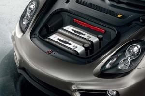 2015 Porsche Cayman GT4 Engine