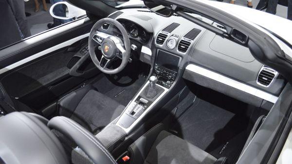 Porsche Boxster 2016 Interior