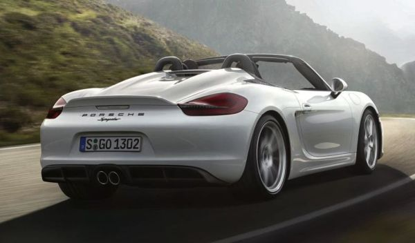 Porsche Boxster 2016 - Rear View