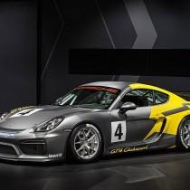 2016 Porsche Cayman GT4 Clubsport -FI