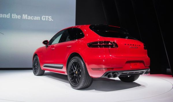 2017 Porsche Macan GTS - Rear View