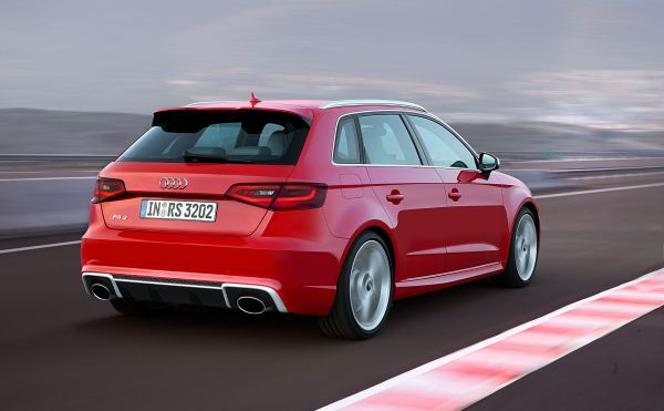 Rear View of 2015 - Audi RS3