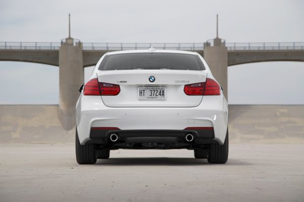 Rear View of 2015 - BMW 335i Sedan