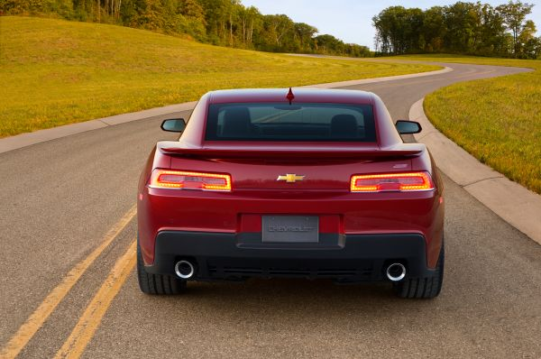 Rear View of 2015 - Chevrolet Camaro SS