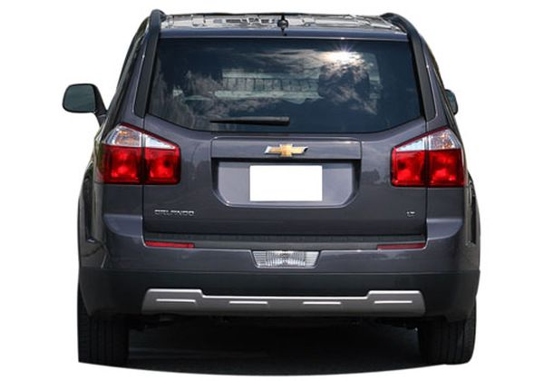 Rear View of 2015 - Chevrolet Orlando