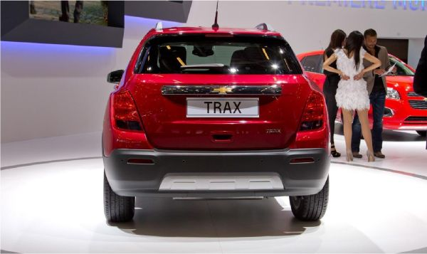 Rear View of 2015 Chevrolet - Trax
