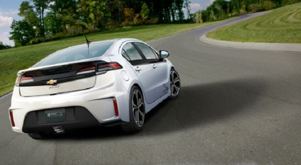 Rear View of 2015 - Chevrolet Volt