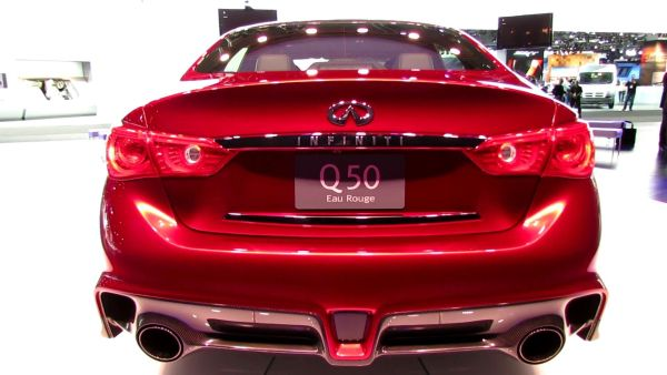 Rear View of 2015 - Infiniti Q50