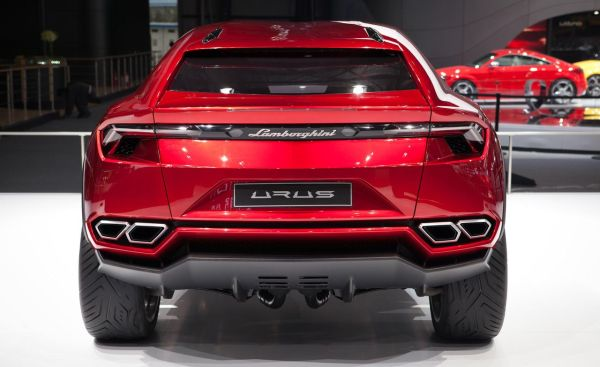 Rear View of 2015 Lamborghini - Urus