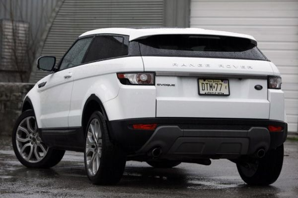 Rear View of 2015 Land Rover - Range Rover Evoque