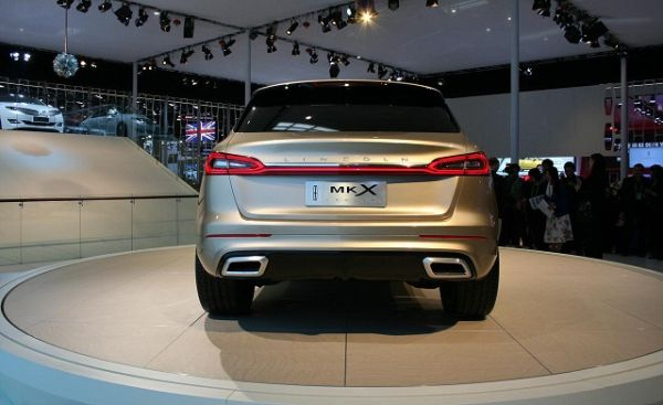 Rear View of 2015 Lincoln -  MKX