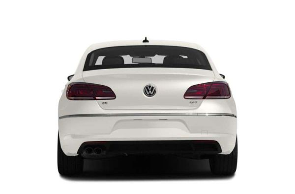 Rear View of 2015 Volkswagen - CC