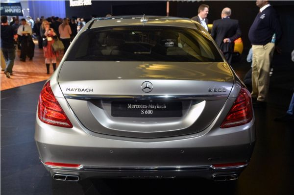 Rear View of 2016 - Mercedes Maybach S600