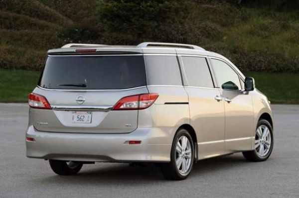 Rear View of 2016 Nissan Quest