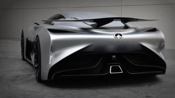 Rear View of Infiniti - Vision GT