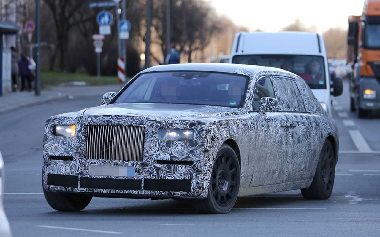 2018 Rolls Royce Phantom Spy Shots, Specs, Pics, Rumor