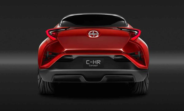 2016 Scion CH-R Concept - Rear View