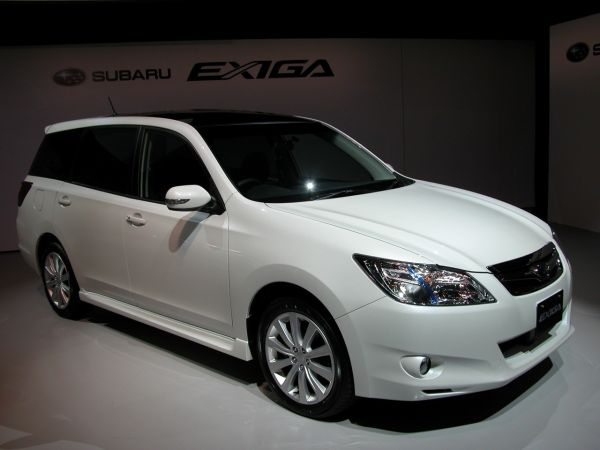 Side View of 2016 - Subaru Exiga