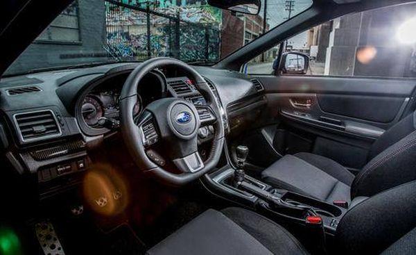 2017 Subaru Impreza Sedan - Interior