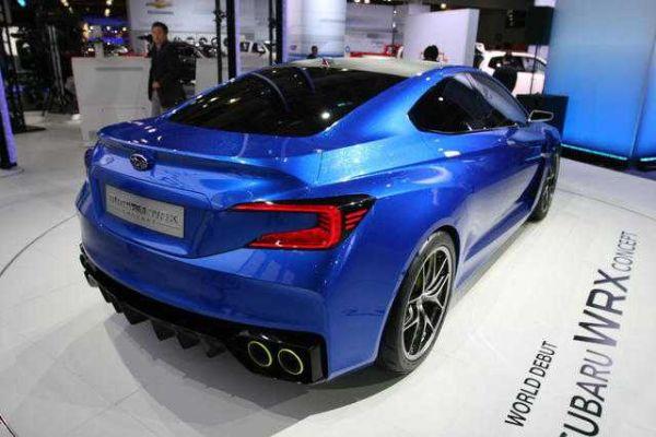 Subaru STI 2016 - Rear View