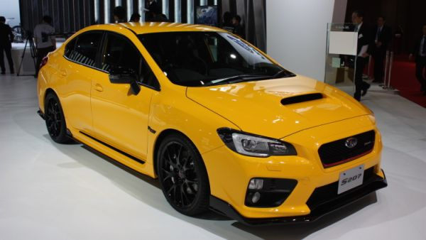 Exterior and interior details of 2016 Subaru WRX STI S207