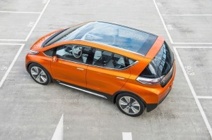 Top View of 2017 Chevrolet Bolt