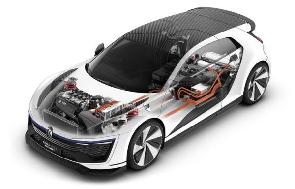 2016 Volkswagen Golf GTE Sport - Engine