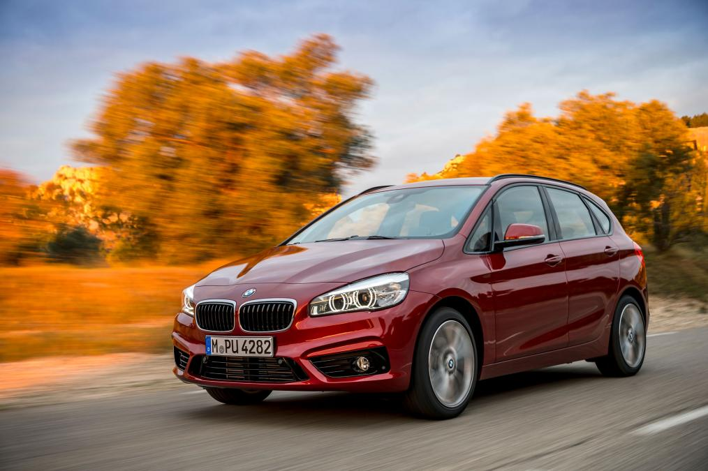 BMW 2 Series Active Tourer red