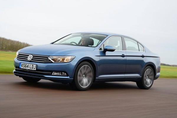 Volkswagen Passat blue