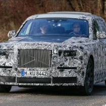 2018 Rolls Royce Phantom Spy Shots