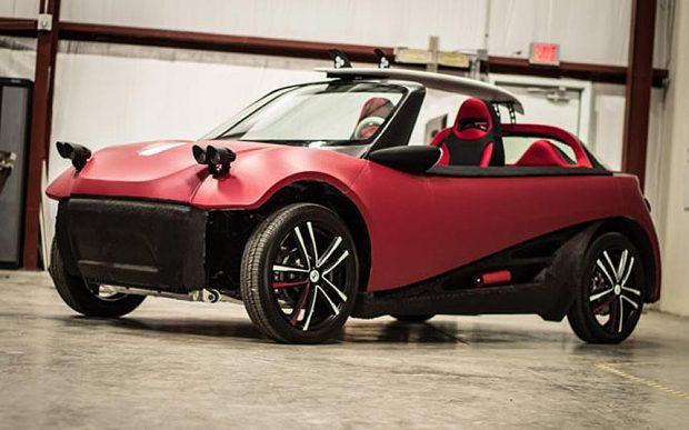 3D Printed Car: Strati