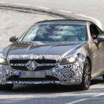 2017 Mercedes-Benz SLC spy shots