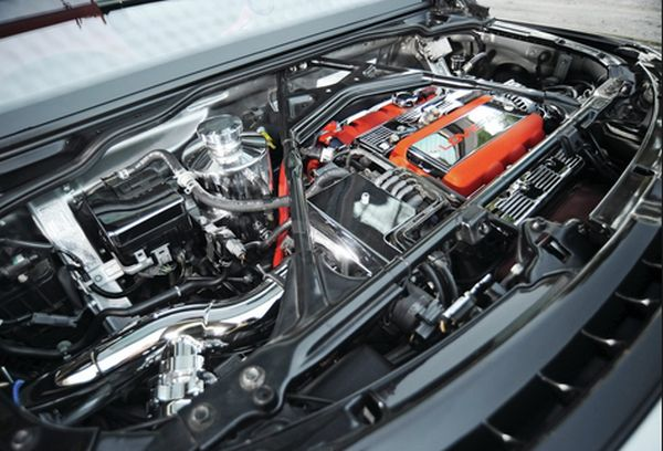 2017 Acura NSX - Engine