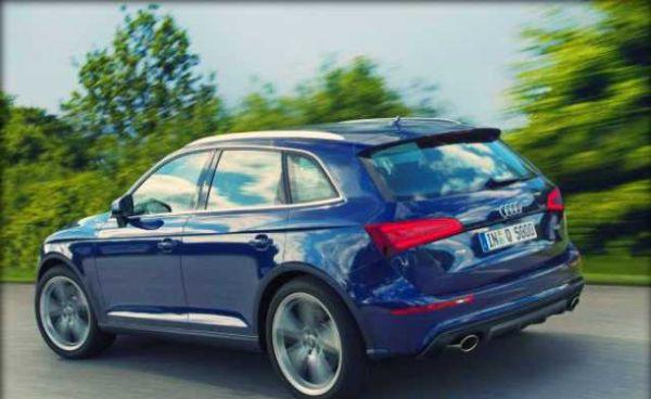 Audi Q5 2017 - Rear View
