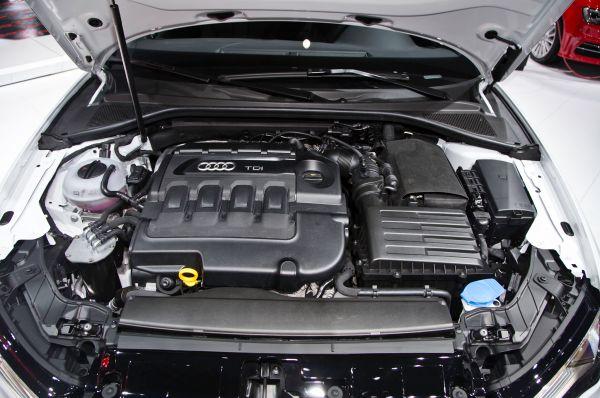 Audi S3 2016 - Engine