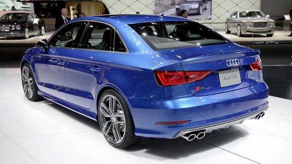Audi S3 2016 - Rear View