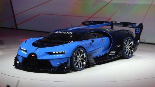 Bugatti Vision Gran Turismo 2016 - FI